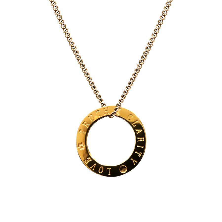 Amulett Shani | 17mm | golden